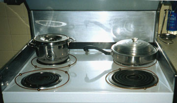 Rings on stove burners